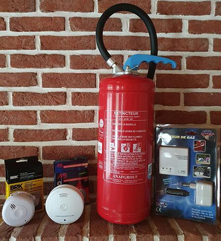 Installation matériel de sécurité incendie à Arras, Béthune, Lens