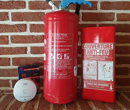 Vente de produits de sécurité incendie à Arras, Béthune, Lens